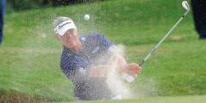 Darren Clarke Playing Golf