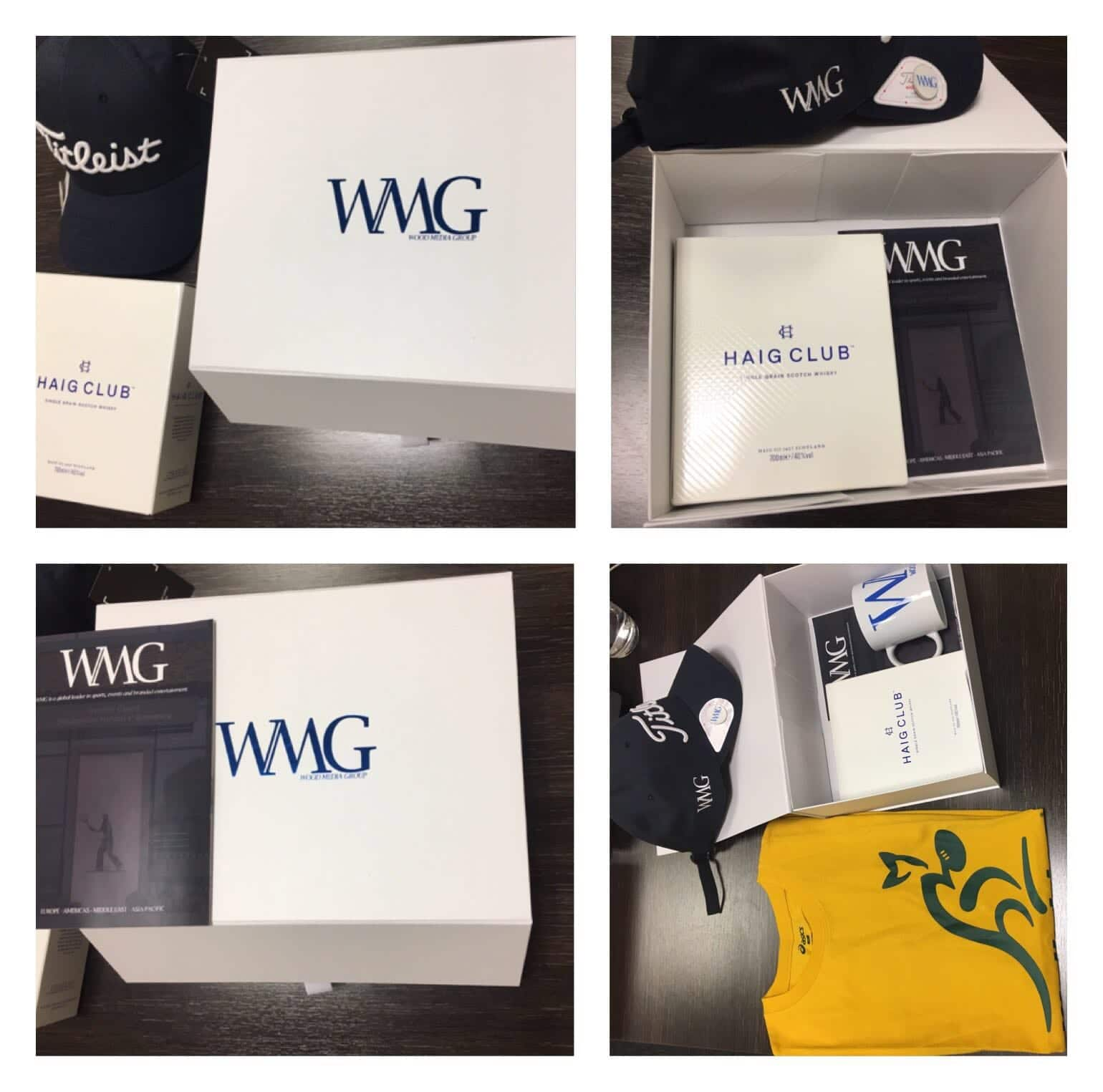 WMG Welcome Packs England vs Australia