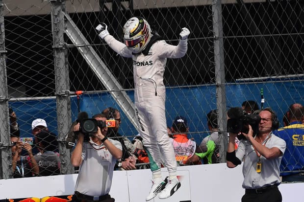 Lewis Hamilton wins fourth world title