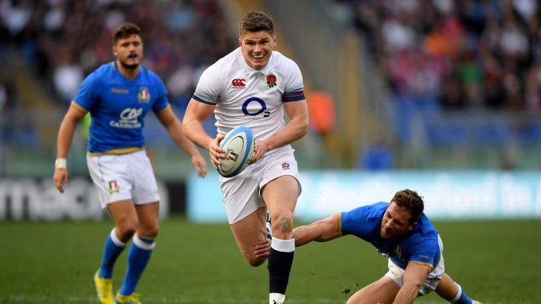 England vs Italy 2018 NatWest 6 Nations.