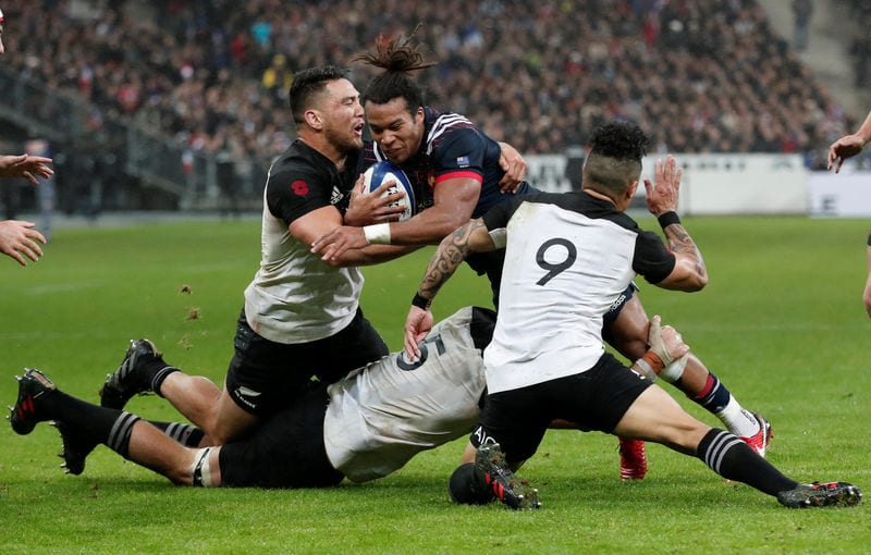 World Champions All Blacks Dominate Valiant France