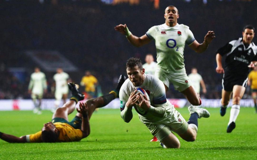 England 30 – Australia 6
