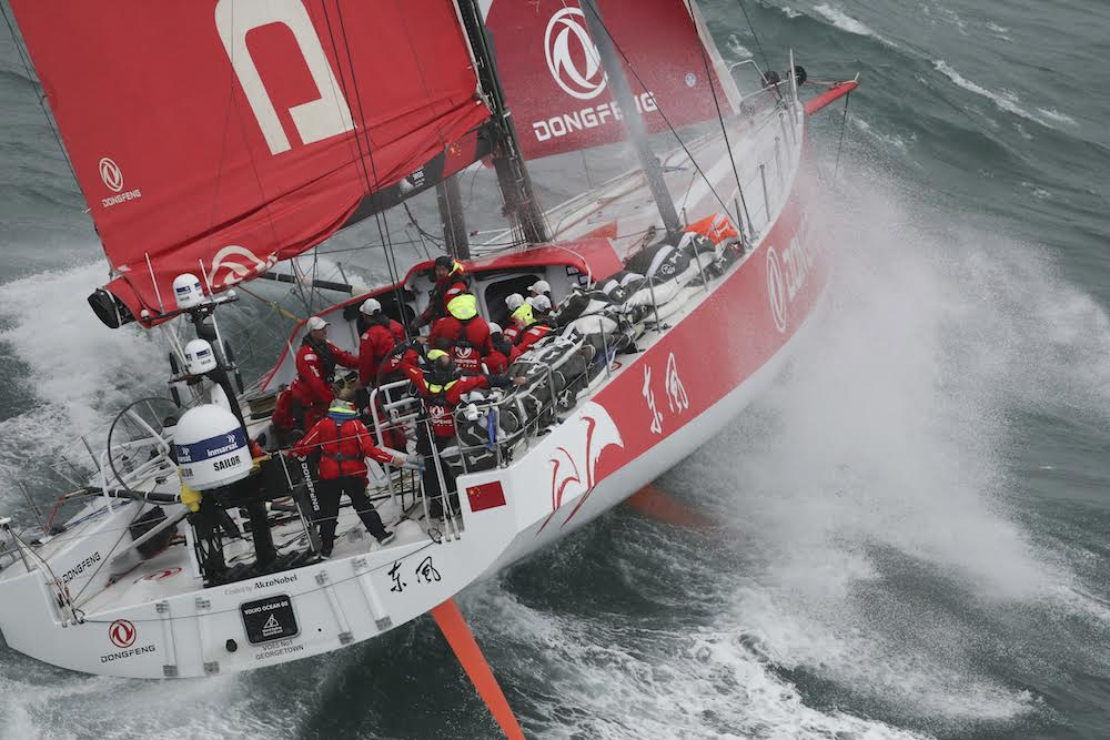 Volvo Ocean Race finishes at the Hague