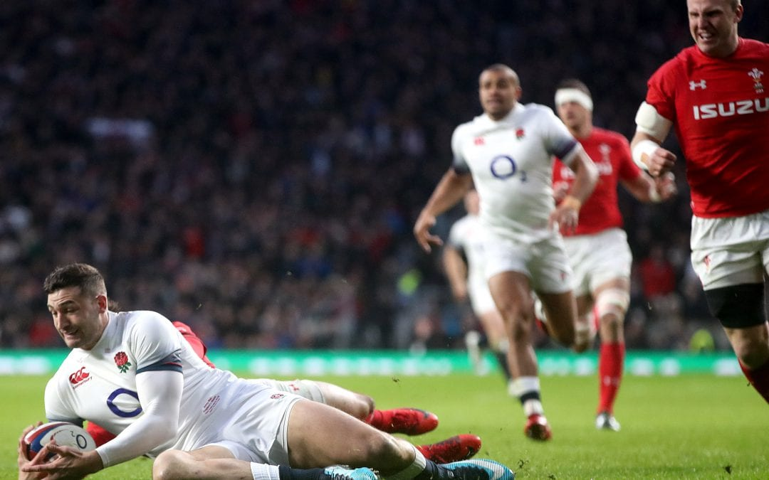 England vs Wales 2018 NatWest 6 Nations.