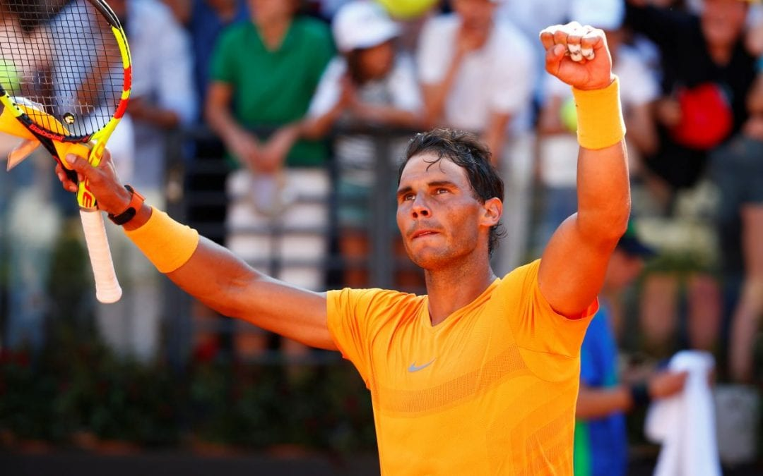 Rafael Nadal back to No.1