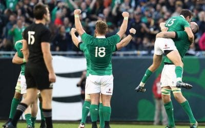 Ireland vs New Zealand 2018.