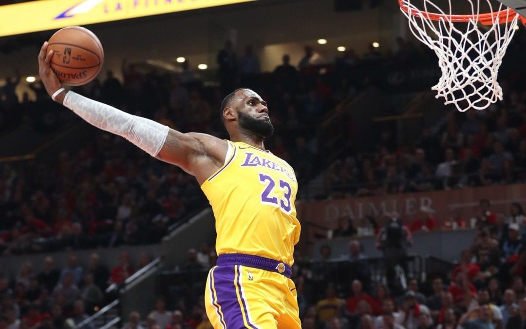Lakers Legend Lebron.