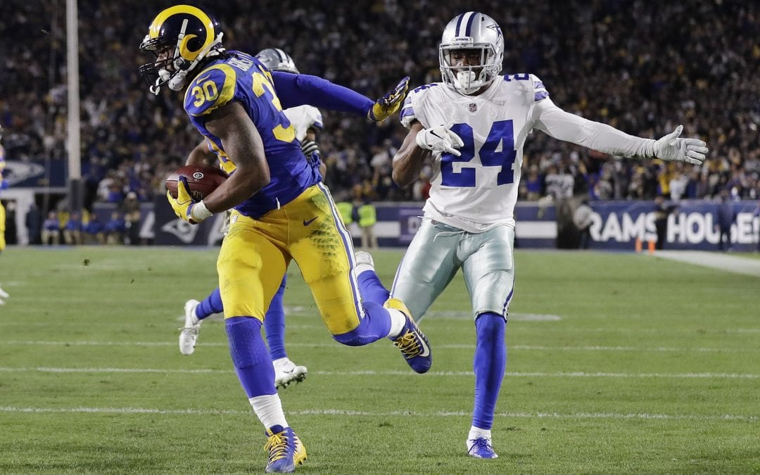 NFL- Dallas Cowboys VS Los Angeles Rams