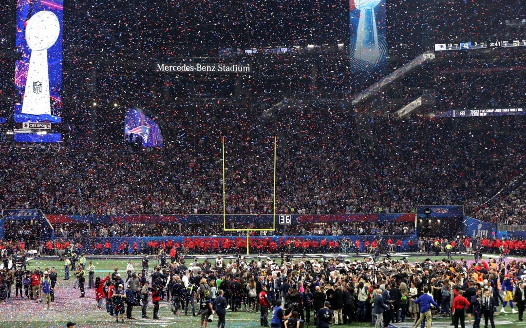 What happened at the Super Bowl LIII 2019?