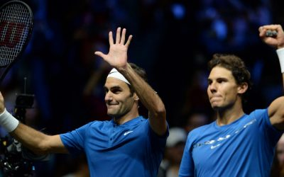 Roger Federer vs Rafael Nadal in Cape Town, 2020